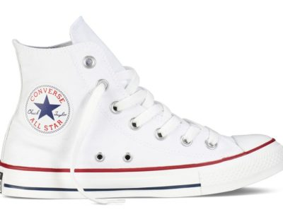 Кеды Converse Chuck Taylor All Star High ткань белые