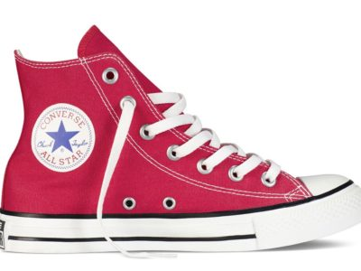 Кеды Converse Chuck Taylor All Star High ткань красные