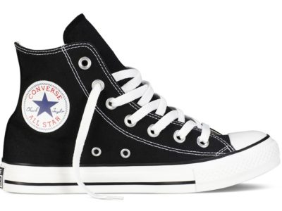 Кеды Converse Chuck Taylor All Star High ткань черные