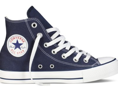Кеды Converse Chuck Taylor All Star High ткань темно-синие