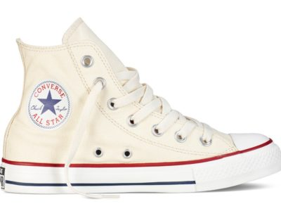 Кеды Converse Chuck Taylor All Star High ткань бежевые